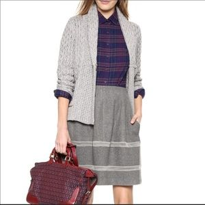Madewell • Gray Shawl Collar Sweater A9560 M